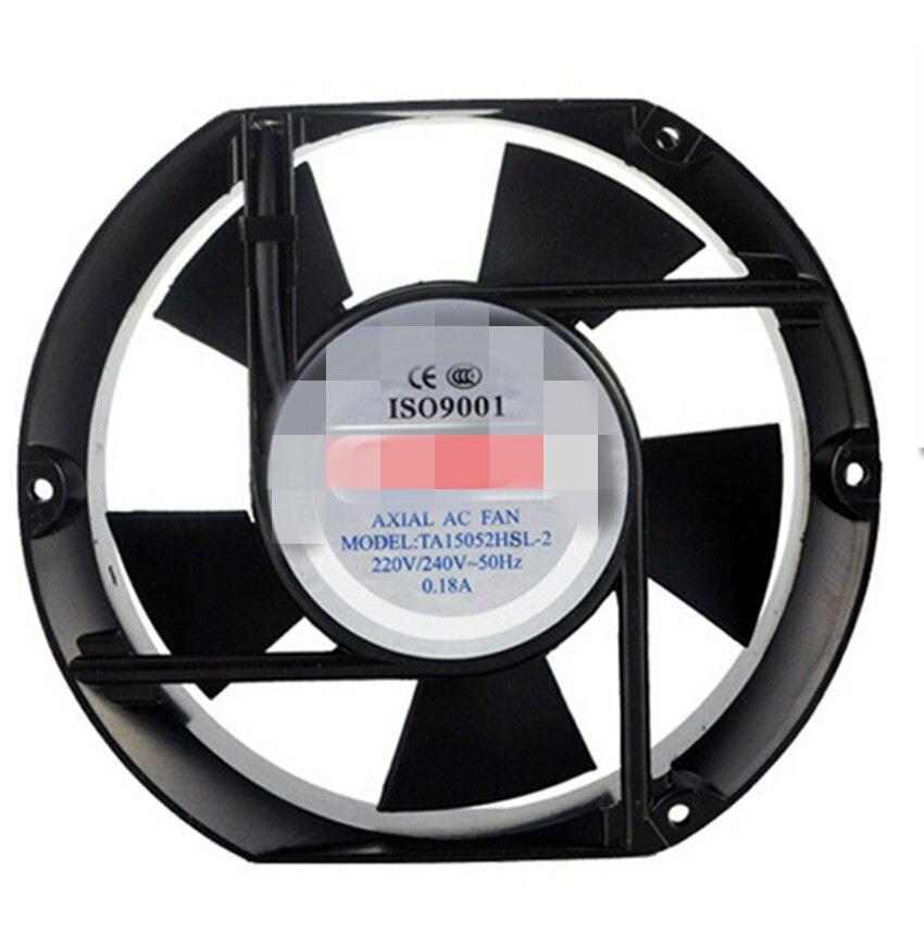 AC Axial Fan Copper Coil TA15052 Industrial Welder Cooling Fan 110V 220V 380V Brushless fan ball axial fan jd12038ac 220v 0 14a 12cm cooling fan