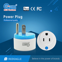 Z Wave Sensor Smart Home US Power Plug Socket Compatible With Z Wave 300 Series 500