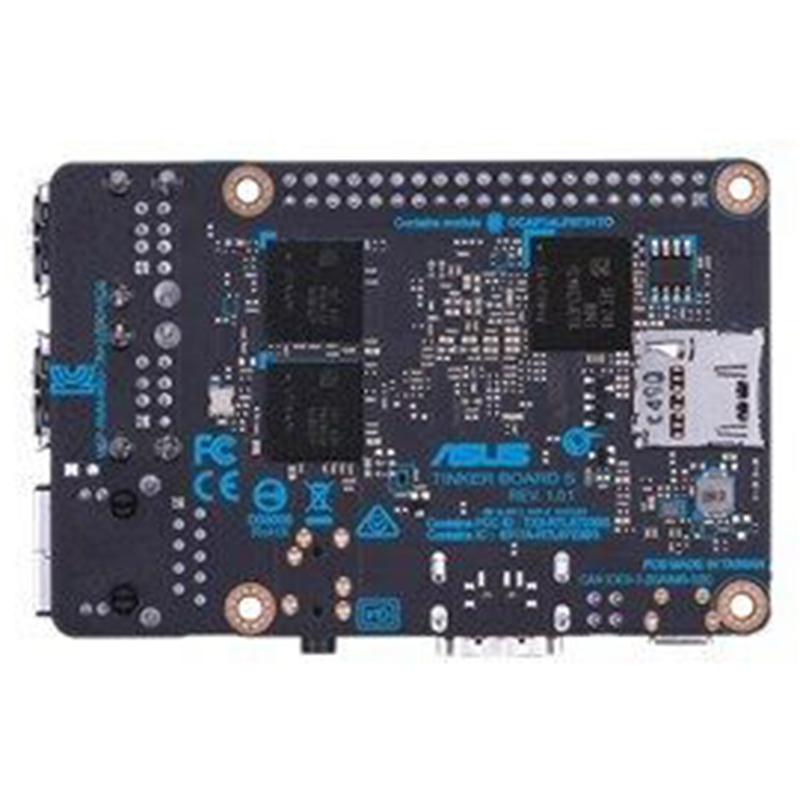 Tinker Board S Rk3288 Soc Onboard 16Gb Emmc 1 8Ghz Quad Core Cpu 2Gb Lpddr3 in Motherboards from Computer Office
