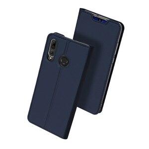 Image 2 - DUX DUCIS Flip funda para Huawei P Smart Plus 2019 libro billetera de cuero para Huawei P inteligente + (2019)/P Smart Z PSmart Coque