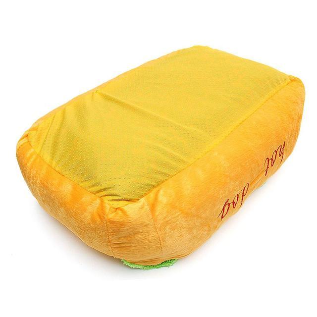 Adeeing Cotone Caldo di Forma di Cane Pet Bed Canile Cat Dog Nido Del Cucciolo di Casa Caldo Zerbino Cuscino Pad Lavabile