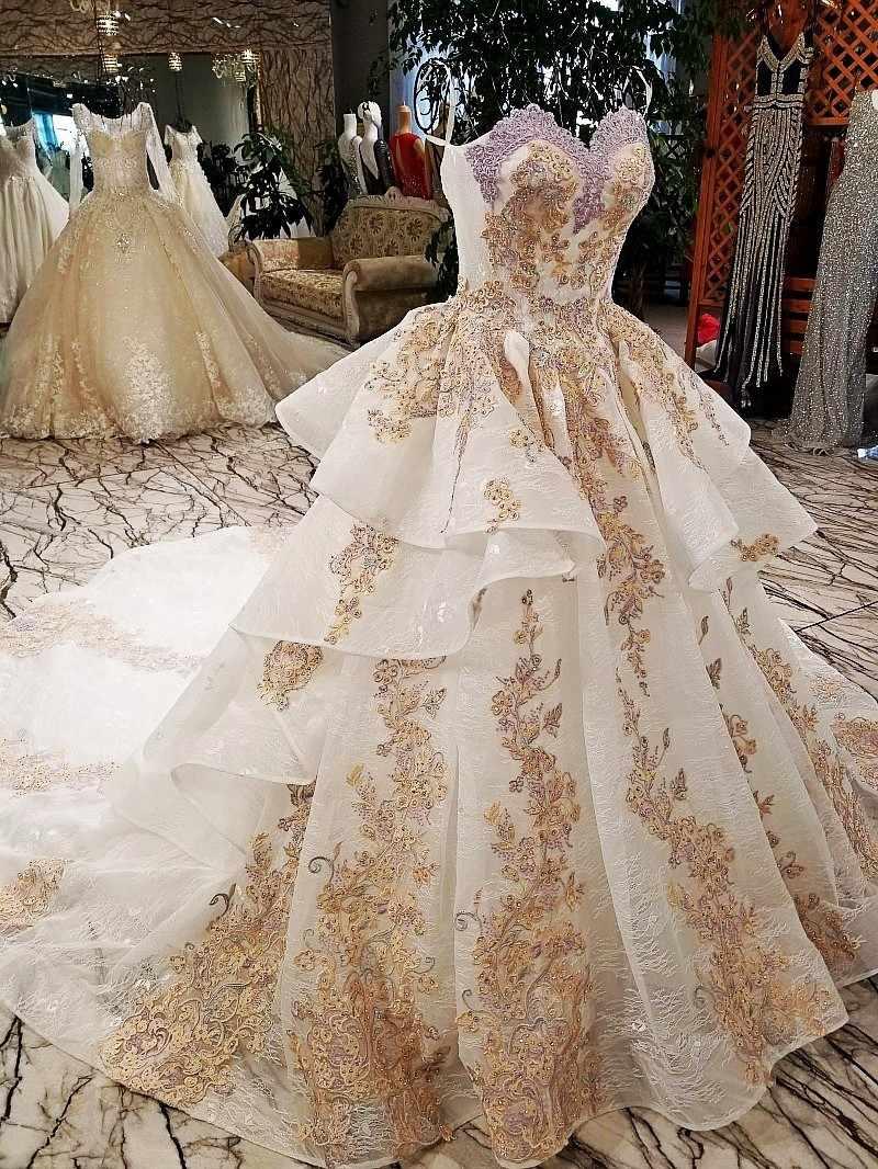 Роскошное благородное Сексуальное Милое на тонких бретельках с цветами, кружевное вечернее платье 2018 vestido de casamento abiye