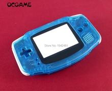 OCGAME Lichtgevende Groene Lichtgevende Blauw Shell Behuizing voor Gameboy Advance GBA Night Lighhted Shell Cover Case