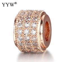 Fashion Metal Brass Micro Pave Crystal CZ Geometry Crown Leopard Helmet Skull Round Space Beads for Jewelry DIY Bracelet Making mixed wholesale micro pave beads diy jewelry making findings copper charm spartan warrior crown skull beads for bracelet