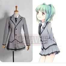 Asesinato Aula Cosplay Uniforme Uniforme Escolar Japonés Anime Kayano Kaede Kataoka Megu (Blazer + Falda + Corbata + Camisa)