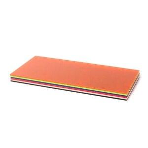 Image 5 - 1PC Plexiglass BOARD Multicolorอะคริลิคแผ่นแก้วอินทรีย์DIYทำBOARD 10x20cm