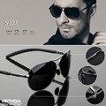 Veithdia hombres del diseño de marca gafas de sol polarizadas anti-uva uvb anti-gafas gafas de conducción al aire libre gafas de sol gafas de sol 3088