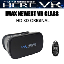 Original VR BOX 2016 Newest Google Cardboard II 2.0 Strong Cooling Effect Healthy Blue Ray IMAX 3D Glasses+Bluetooth Gamepad