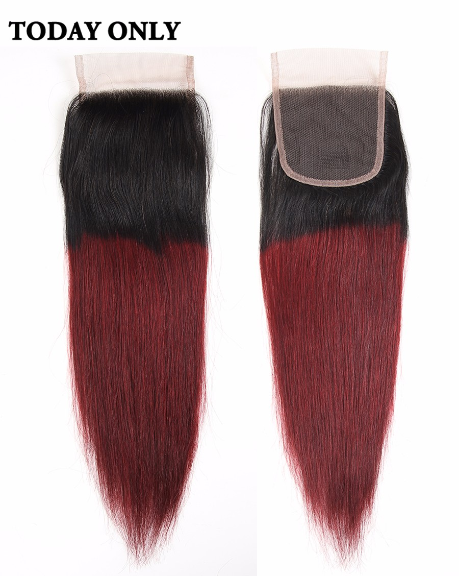 ombre brazilian hair with closure 01