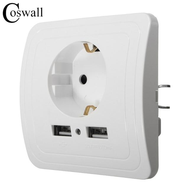 Wholesale Wall Power Socket Plug Grounded, 16A EU Standard ...