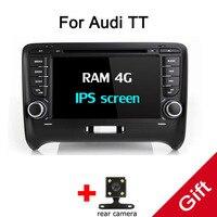 Android 9,0 Octa Core PX5/PX3 подходят для AUDI TT 2006 2007 2008 2009 2010 2011 Автомобильный DVD плеер навигации GPS TV 3g радио