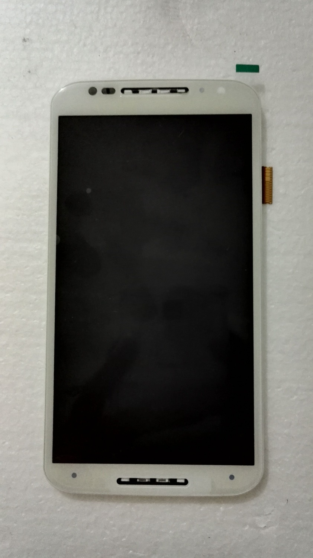 White color For Motorola moto X+1 X2 XT1092 XT1095 XT1096 XT1097 Lcd Display Screen+Digitizer Touch Panel Glass+frame Assembly