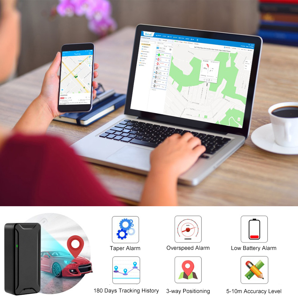 Concox Minimum AT2 Portable GPS Tracker With 1000mAh Recharge