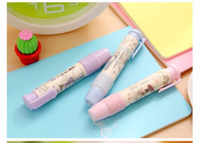 ممحاة قلم رصاص على شكل قلم 4