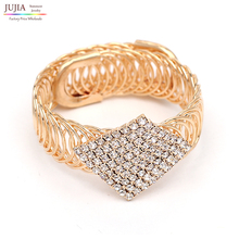 Luxury charm Bracelet Vintage Bracelets & Bangles fashion women statement Crystal Bracelet Jewelry For Women