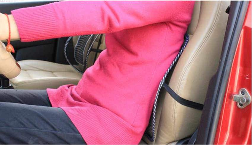 Car Office Home Chair Truck Seat Waist Rest Cushion Pain Relief Mesh Lumbar Pillow Cool Vent Cushion Mesh Back Lumbar Support