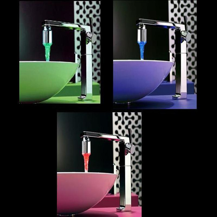 Aliexpress.com : Buy Elegant LED Water Faucet Stream Light 7 Colors ...