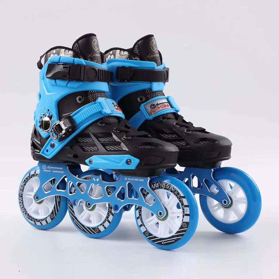 Japy Inline Skates Professionele Volwassen Rolschaatsen Schoenen 72-76-80mm Of 3*110Mm Slalom Snelheid Patines Gratis Schaatsen Racing skates
