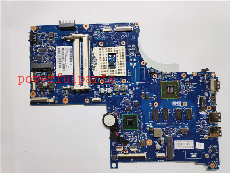 100% Quality 746451-501 746451-001 Laptop Motherboard For Hp Envy 17 17-j Hm87 740m/2g 37w Std 100%working Rapid Heat Dissipation