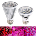 Full Spectrum E27 AC85 to 265V 24W 12 Bead Grow Plant Light for Vegetable Flower Plant Hydroponic System High Quality Grow light
