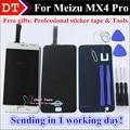 """Alta Qualidade New Display LCD + Assembléia Tela de Toque Digitador Para Meizu MX4 Pro 5.5 """"Telefone celular 2560*1536 Cor Preto Branco"""