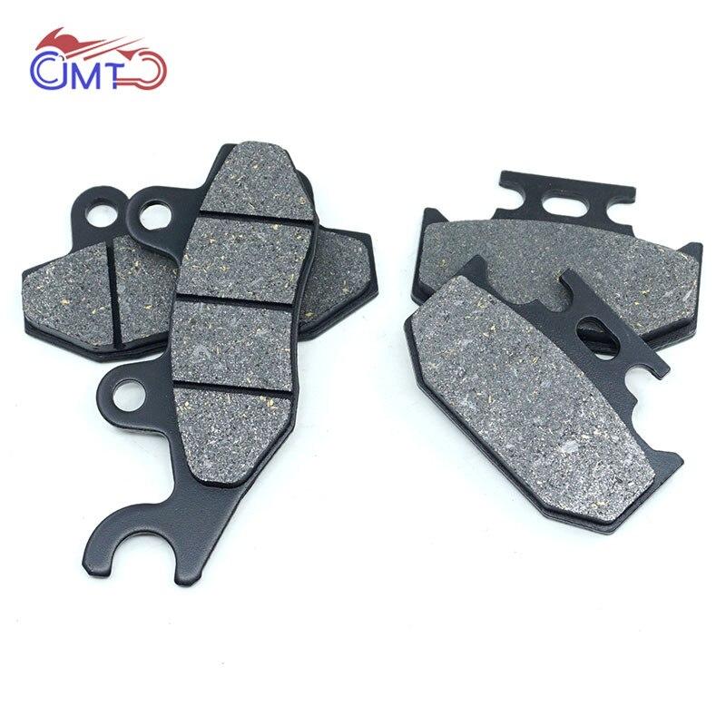 For Suzuki DR350SE 94-97 DR350S 90-98 DR350 90-96 DR250SE 93-95 DR250S 90-92 DR250 90-94 Front Rear Brake Pads Kit Set