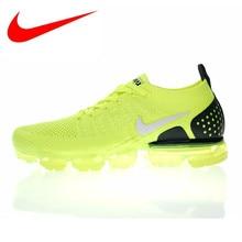 big sale 77889 03cbf Originais Nike Air Flyknit VaporMax 2.0 W dos homens e Tênis de Corrida das  Mulheres, Verde, absorção de choque Respirável Não-s.
