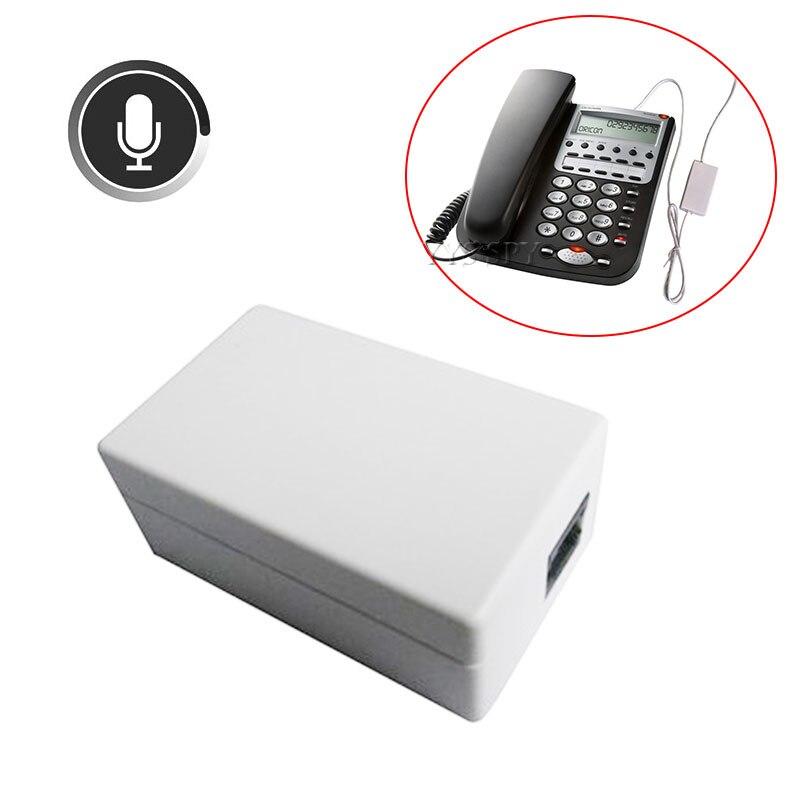 Mini téléphone Portable enregistreur vocal numérique moniteur fixe Audio son Dictaphone appareil d'enregistrement de téléphone d'affaires