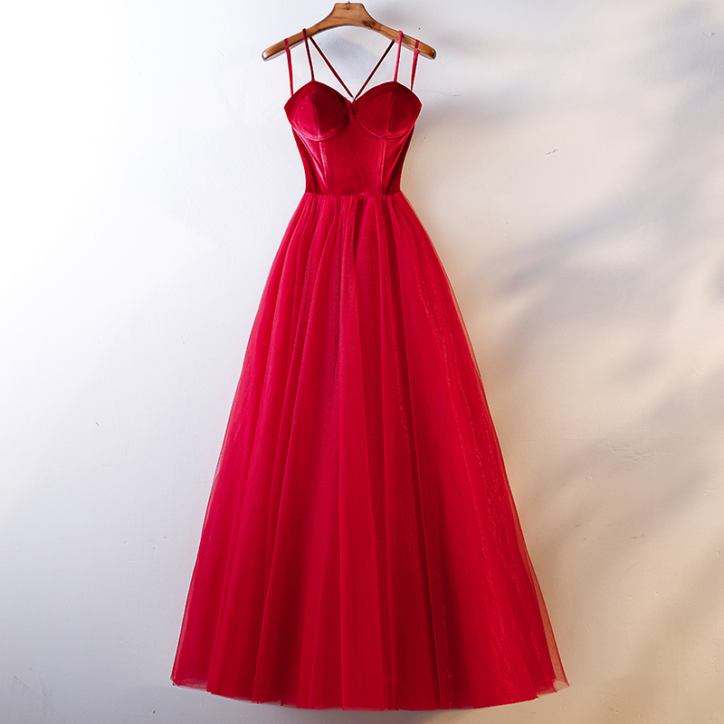 Evening     Dress   2019 New Fashion Sexy Sleeveless Spaghetti Strap Long-style Party   Dress   Backless Lace Up Prom Formal   Dresses