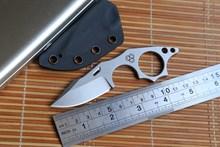 МГ Arctic Fox фикчированный нож N690 Лезвие охота прямой KYDEX Оболочка выживания отдых открытый EDC кухня обстрагывая нож инструмент