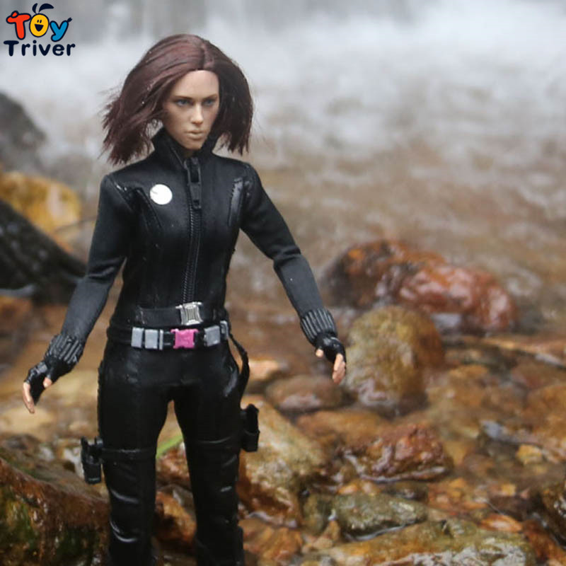 1/6 doll set black widow Figures model set The Avengers 12 collectible action figure free shipping 1 6 soldier action figure the dark zone agent renegad model accessories full set figures