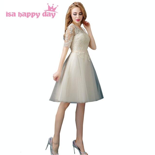Vintage damigelle d onore nuziale sorella della sposa partito abiti corti  damigella d onore 754cdb901c7f