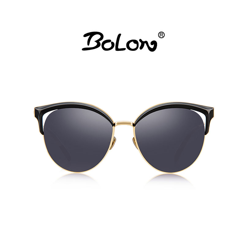 marca de lujo sol de Women Cat la Eye Bolon de Diseñador de In ropa Fashion Modelo la Sunglasses Bl6029 2017 Gafas New Shades CWTw7qa6