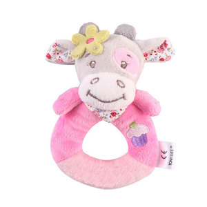 Image 4 - JMao Baby Toys 0 12 Months Animal Rattles Soft Plush Baby Toys Hand Bell Mobile Rattle Early Educational Toy Cartoon Kids Gift