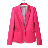 2014 Za New Hot Stylish And Comfortable Women S Blazers Candy Color Lined With Striped Z