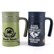 ZOOOBE термосы с рукояткой термосы офисные чай нержавеющая сталь изотермическая чашка Термокружка с утечки человека подарок