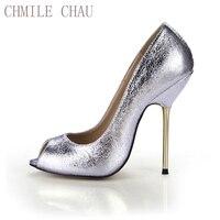 Chmile чау взрыв пикантные вечерние женские туфли-лодочки с открытым носком стилет гладить на высоком каблуке Дамская обувь zapatos mujer 3845-a12