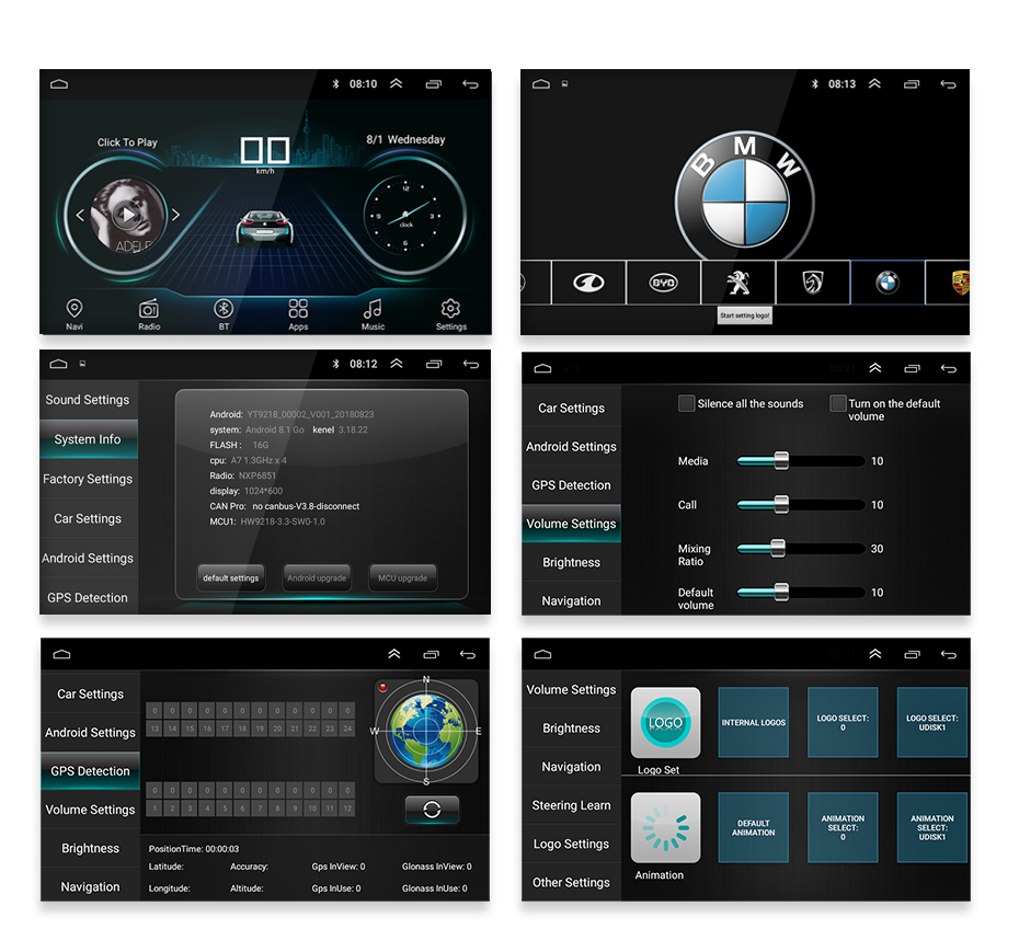FM AM THREECAR Bluetooth 16