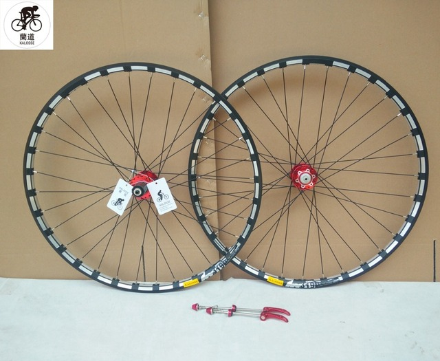 Kalosse Cycling Parts 32 Holes 27 5er Bicycle Wheels 29 Inch