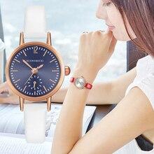 Retro Pattern Simple Watch Classic Quartz Luxury Exquisite Casual Women Gold Leather Strap Ladies WristWatch Relogio Feminino
