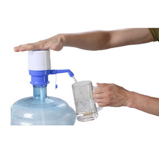 5 Gallon Bottled Water Drinking Ideal Hand Press Manual Pump Faucet Tool Plastic Water Bottles Manual Pump Drop shipping