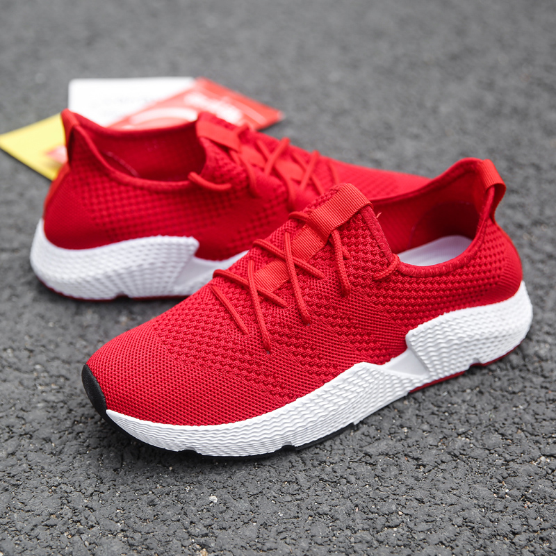 Calçado vermelho Homens De Moda Confortáveis Data Sapatos cinza Respirável À Adulto Sapatas Alta Sapatilhas Preto Qualidade Casuais Dos Vogue Até Maschio 0RqZIwx