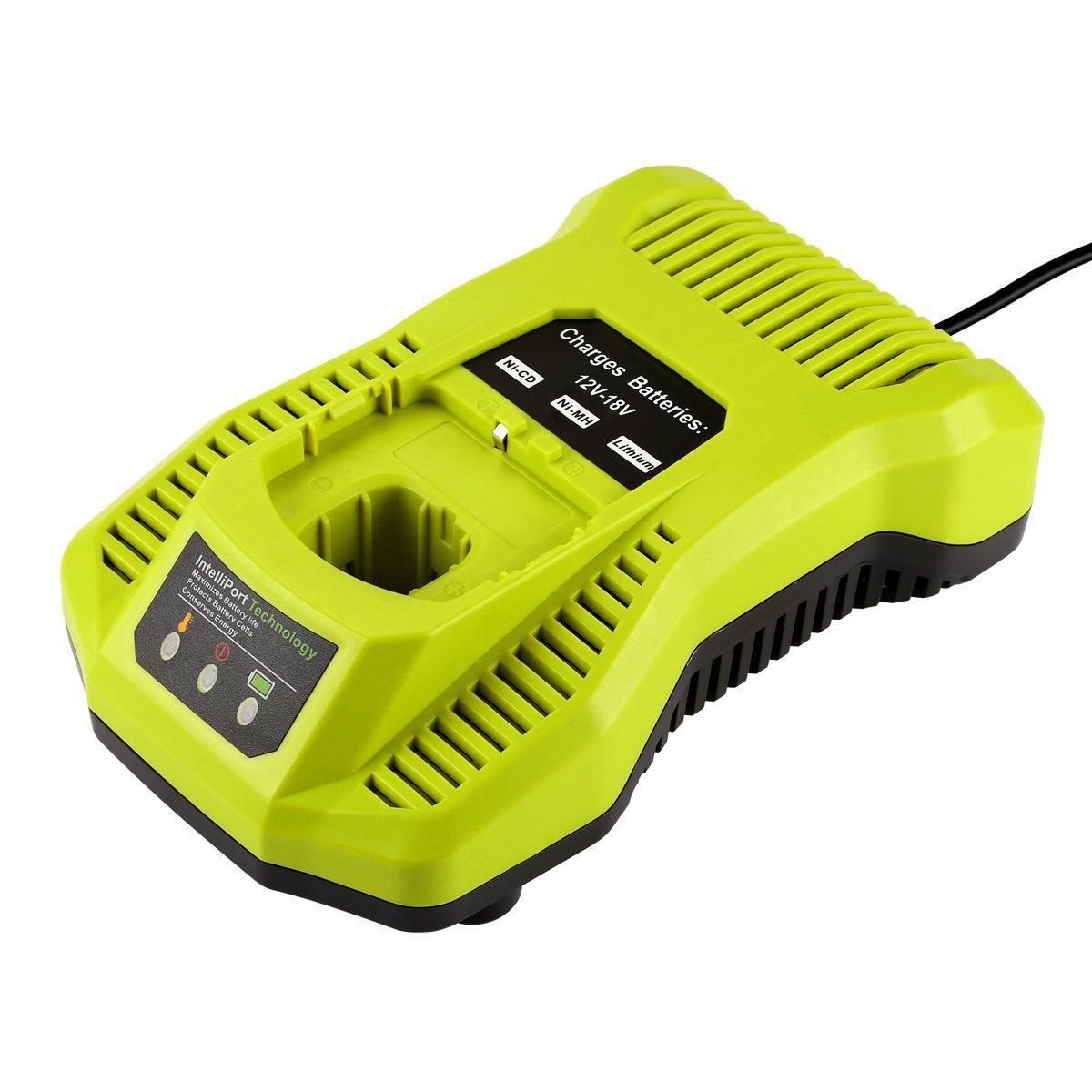 For Libybi RYOBI P117 12V 18V nickel / lithium battery universal charger