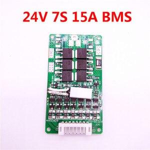 Image 4 - LiitoKala 7S 24V 15A BMS 24v lithium battery BMS for electric bike 24V 8Ah 10Ah 12Ah li ion battery With balance function