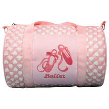 Pink Canvas Ballet Bag Dance Bags for Girls Kids children High Quality Lovely Bag(China)