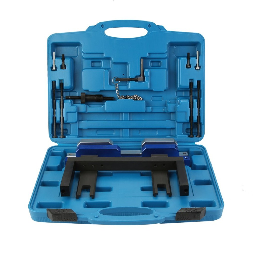 Engine Timing Tool Chain Removal Installation Camshaft Locking Cars Auto Engine Repair Set For BMW N51 N52 N53 N54 E81 newest engine timing tool chain removal installation camshaft locking cars auto engine repair set for bmw n51 n52 n53 n54 e81