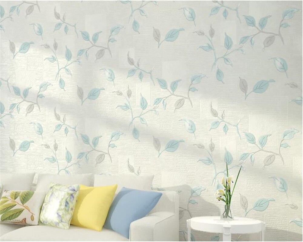 Beibehang papier peint américain décoration murale salon TV fond papier peint feuille 3D papel de parede papier peint pour murs 3 d