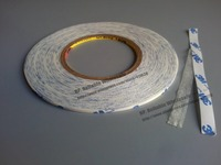 25mm 50M 0 15mm 3M Double Sided Sticky Tape 9448 White For PC Phone Screen