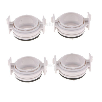 4Pcs HID Light Bulb Holder Adapter Retainers Lamp Clips H7 for BMW H03 E46 image