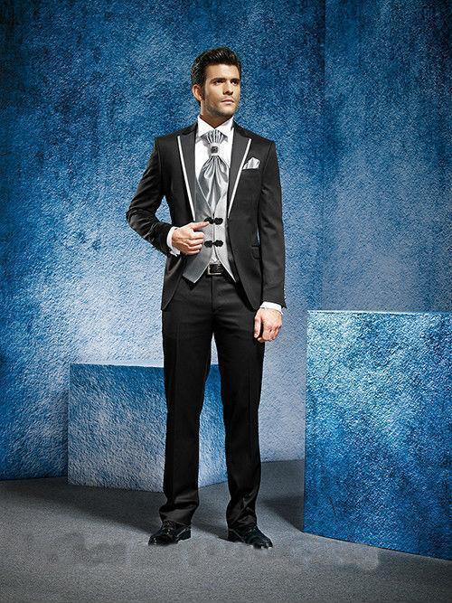 2018 Новое поступление индивидуальный мужской костюм свадебные смокинги куртка индивидуального пошива + брюки + галстук + жилет смокинги жени